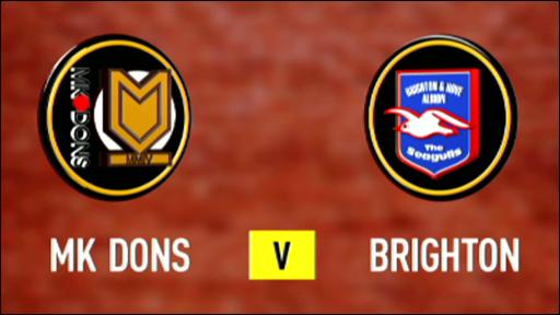 MK Dons 0-0 Brighton