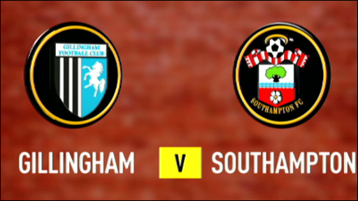 Gillingham 2-1 Southampton