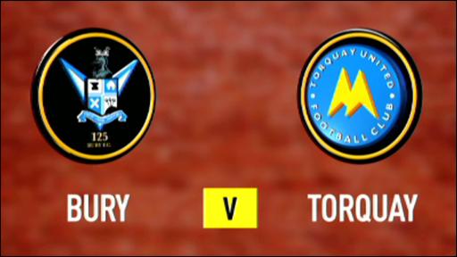 Bury 0-3 Torquay
