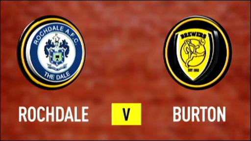 Rochdale 1-2 Burton Albion
