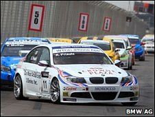 Andy Priaulx's BMW