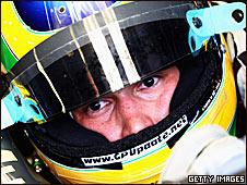 Hispania driver Bruno Senna