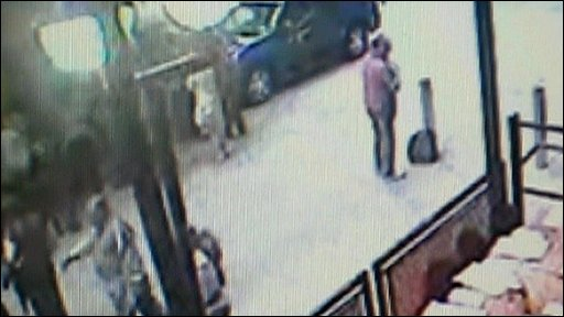 CCTV footage of a man investigators want to speak to