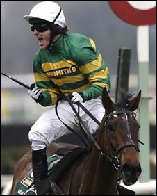 Tony McCoy and Don't Push It