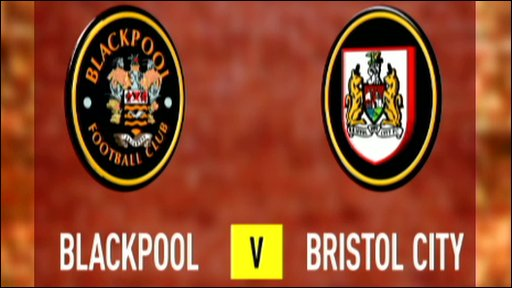 Blackpool 1-1 Bristol City