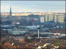Wakefield skyline