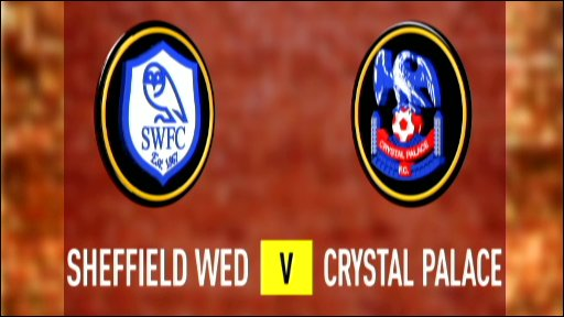 Sheff Wed 2-2 Crystal Palace