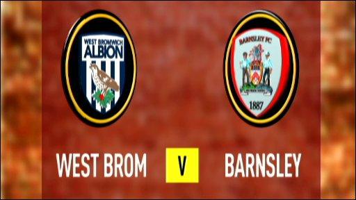 West Brom 1-1 Barnsley