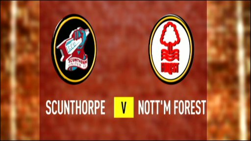 Scunthorpe 2-2 Nottm Forest