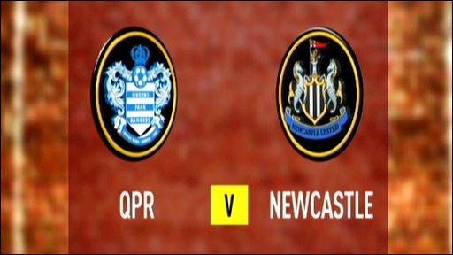 QPR 0-1 Newcastle