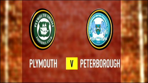 Plymouth 1-2 Peterborough