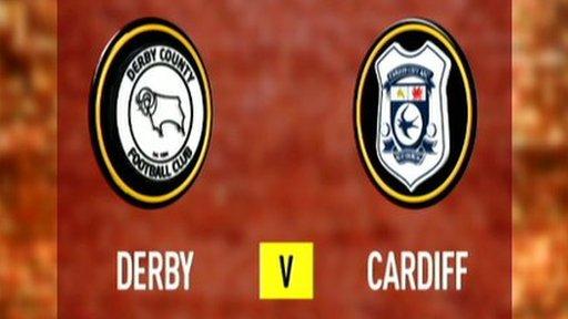 Derby 2-0 Cardiff