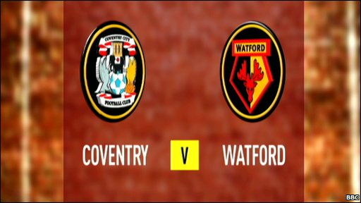 Coventry 0-4 Watford