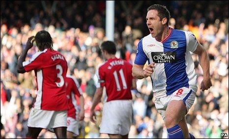 David Dunn equalised for Blackburn