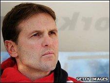 Saints' coach Mick Potter
