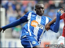 Ivory Coast and Wigan's Steve Gohouri