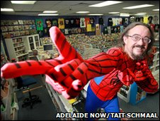 Spider-Man foils theft on Free Comic Book Day