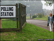 Polling day, 2005