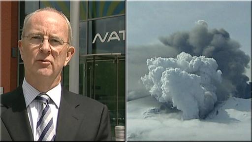 Ian hall and volcanic ash