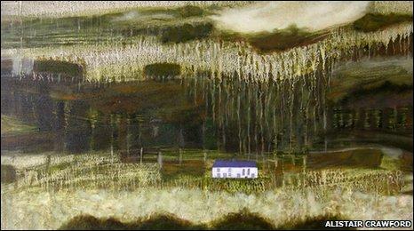 Alistair Crawford,  'For Soar Y Mynydd I ', 2009, oil on canvas