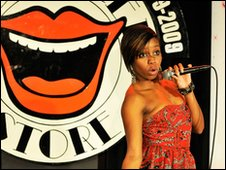 Funny Women Awards 2009 winner, Miss London