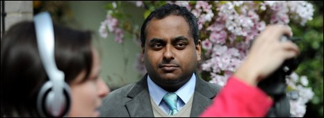 Labour candidate Manish Sood breaks ranks with an attack on his leader