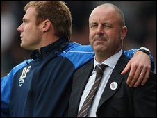 Keith Hill (r) and David Flitcroft