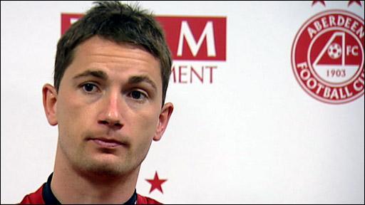 Aberdeen midfielder Gary McDonald