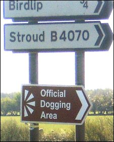 Fake sign