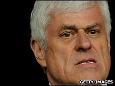 Peter Ridsdale, outgoing Cardiff City chairman