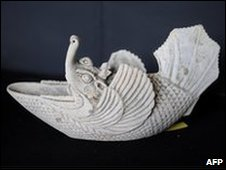 A 10th Century treasure from the wreck found off Cirebon, Java