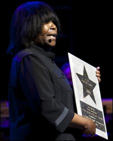 Joan Armatrading gets her Star