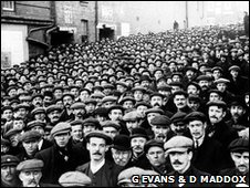 Miners at the time of the Tonypandy riots