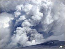 Eyjafjallajokull volcano
