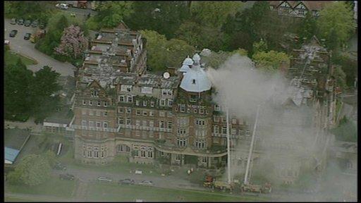 Majestic hotel in Harrogate
