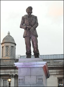 Statue of Sir Keith Park in Trafalgar Square