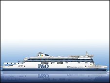 Artist's impression of new ferry