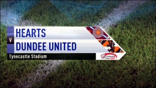 Hearts v Dundee Utd
