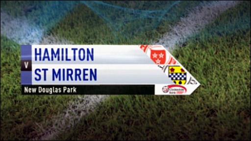 Hamilton v St Mirren
