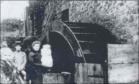 The Pontamman Water Mill circa 1910