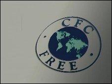 CFC-free logo