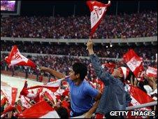 Fans of Libyan side Al Ittihad