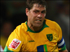 Norwich Citty striker Grant Holt