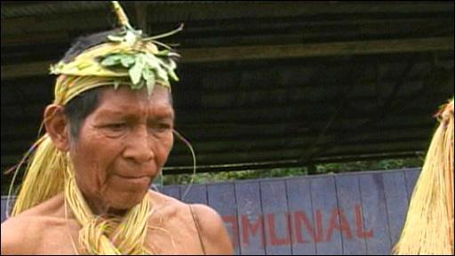 Amazon tribesman