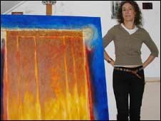 Yana Trevail pictured in her studio