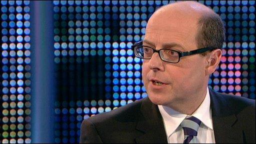 The BBC's political editor Nick Robinson