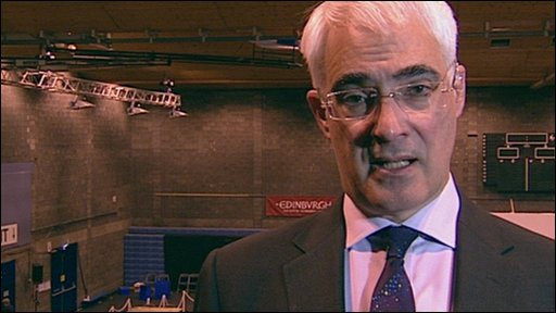Alistair Darling says he has no interest in being a caretaker leader of the Labour Party