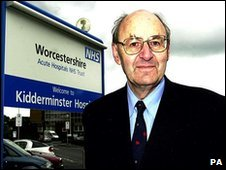 Dr Richard Taylor, a former independent health candidate for Wyre Forest