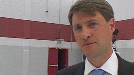 Chris Skidmore, new MP for Kingswood
