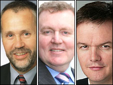 Russell Brown, David Mundell and Michael Moore
